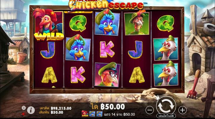 เกมสล็อต The Great Chicken Escape